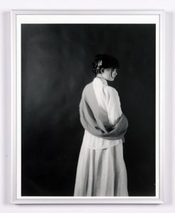 """Traditional"", 2019, Xiaoyou Wu, Silver Gelatin Print Photography, 14"" H. X 11"" W. Framed"