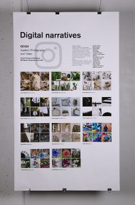 """""""Visual Themes and Narratives"""", Will Maher, Applied Photography and Video"""