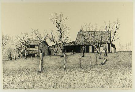"Vincent Hillon, ""Untitled,"" Print, 16"" x 26"", 1980, Accession number: 1980.001.001"