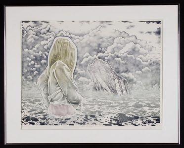 """J. Hillon, """"After The Storm,"""" Painting, 24"""" x 30 3/4"""" 1982, Accession number: 1982.001.001"""
