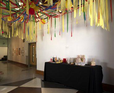 """""""The Birthday Party"""", 2019, Amanda Garcia, Mixed media, Installation."""