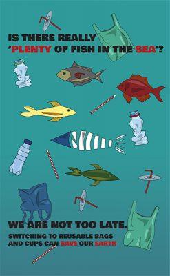 "Jade Choo, ""Sea the Truth"", Inkjet Print on Fine Art Print Poster,39.25"" x 27.5"", 2020"