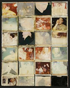 "Laura Dutton, ""Untitled,"" Polaroid resin on board, 20"" x 16"", 2003, Accession number: 2003.002.001"