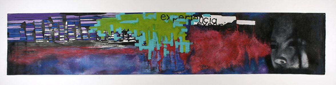 """Sandra Diaz, """"Untitled,"""" Painting, 26 3/4"""" x Unknown width, 2005, Accession number: 2005.009.001"""