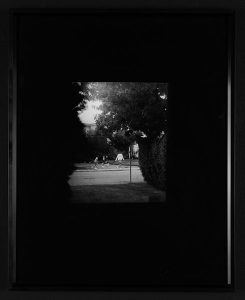 """Ryan Branch, """"Agoraphobia,"""" Black and white photograph, 20"""" x 16"""", 2006, Accession number: 2006.003.001"""