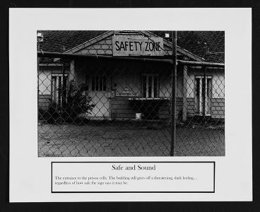 "Ryan Evanoff, ""Safe and Sound,"" Black and white photograph, 8 1/2"" x 10 1/2"", 2006"