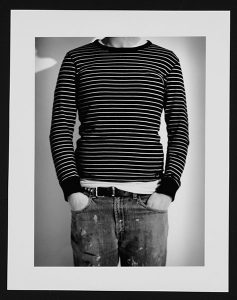"""Tyler Lanz, """"Untitled,"""" Black and white RC print, 11"""" x 14"""", 2008"""