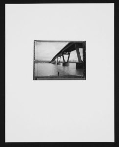 "Patrick Campbell, ""Solitude,"" Black and white photograph, 18"" x 12"", 2008, Accession number: 2008.006.001a-b"