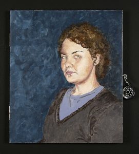"Shannon Hoffer, ""Self Portrait,"" Painting, 2008"