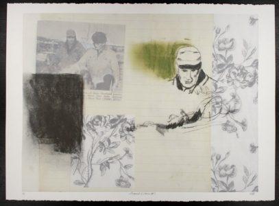 "Hannah Bennet, ""Memoranda I (Version I, II, III, IV),"" Digital print, 28 7/8"" x 35 5/8"", 2011, Accession number: 2011.008.001"