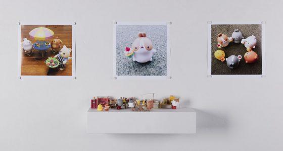"""Molang Series"", 2018, Susan Song, Multimedia Installation"