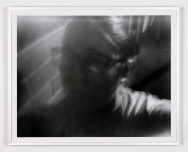 """Self-Portrait"", 2019,Emily Gauthier, Digital Print Pinhole Photography, 16"" H. x 20"" W. Framed"