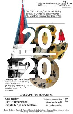 Diploma Grad Show Class of 2020 Poster